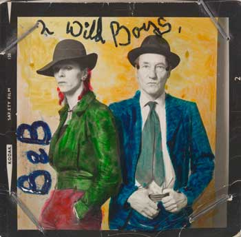 David Bowie et William Burroughs