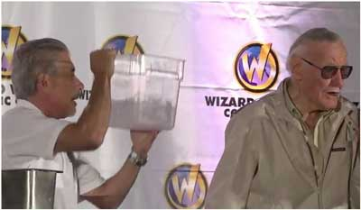 Stan Lee Ice Bucket Challenge